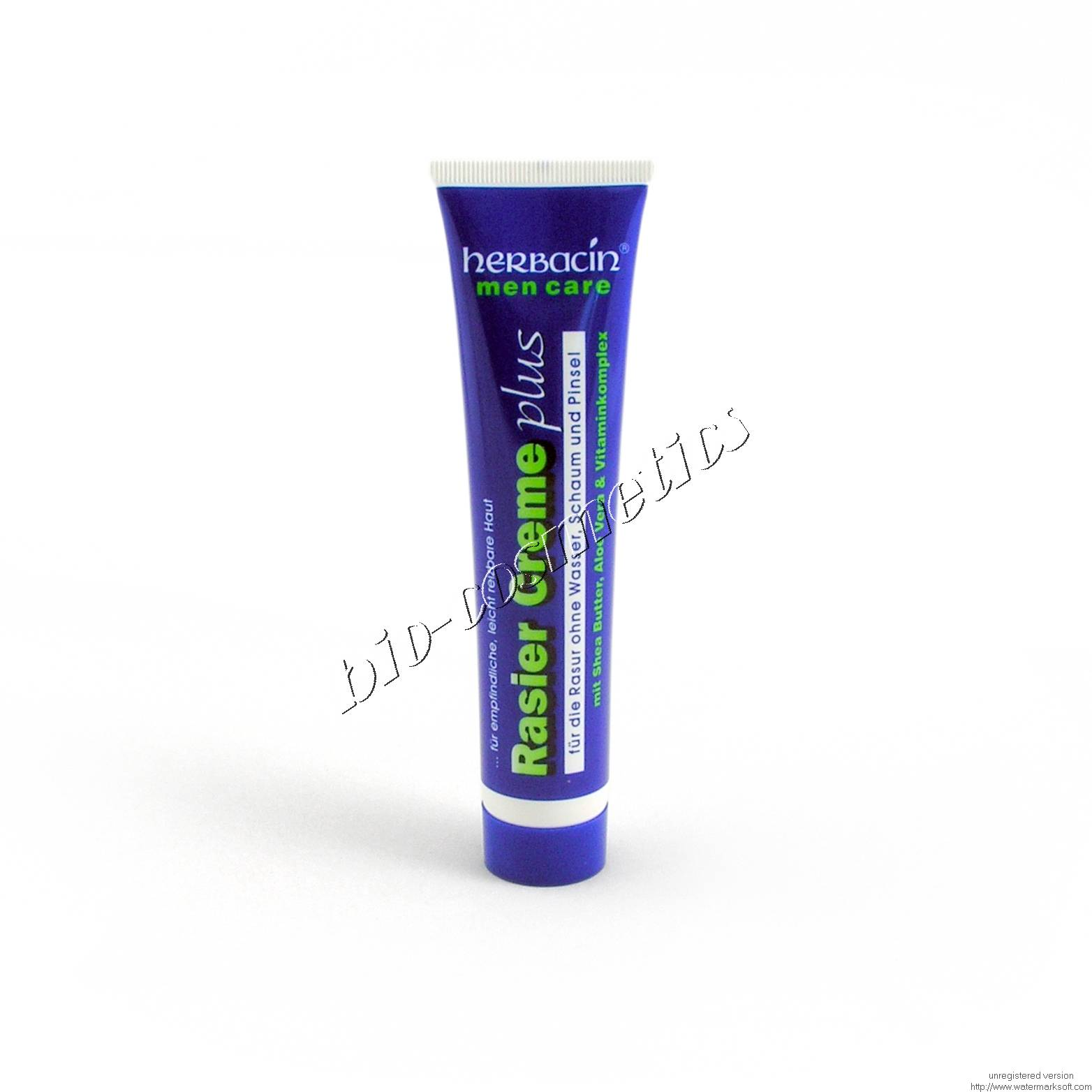 Crema de ras HERBACIN MEN CARE
