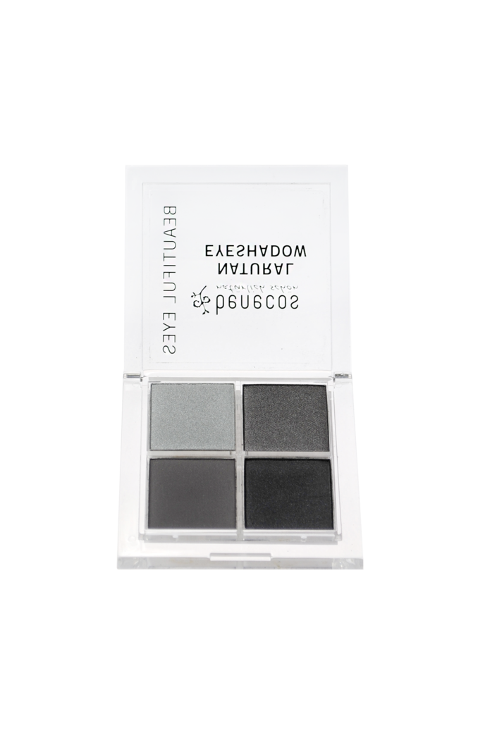 benecos Fard natural Quattro SMOKEY EYES
