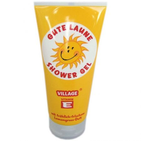 Village Gel de dus Smiley (cu Lamaita)si vitamina E