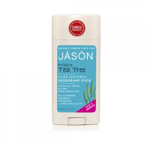 JASON Deodorant stick bio, anti-bacterian, cu Tea Tree, 75g