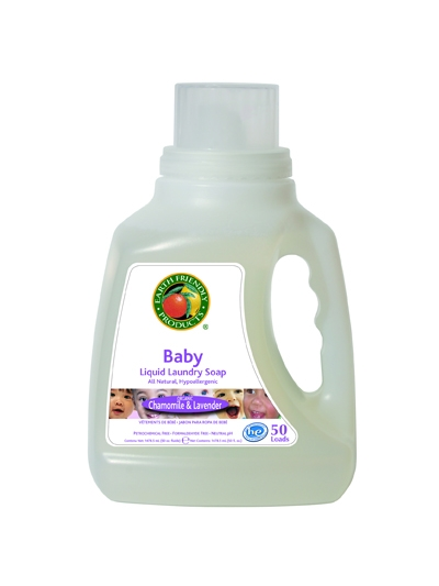 EARTH FRIENDLY PRODUCTS Detergent lichid pt. bebelusi - musetel si lavanda,
