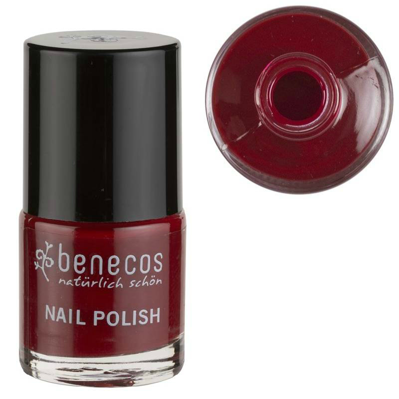 benecos Lac de unghii CHERRY RED