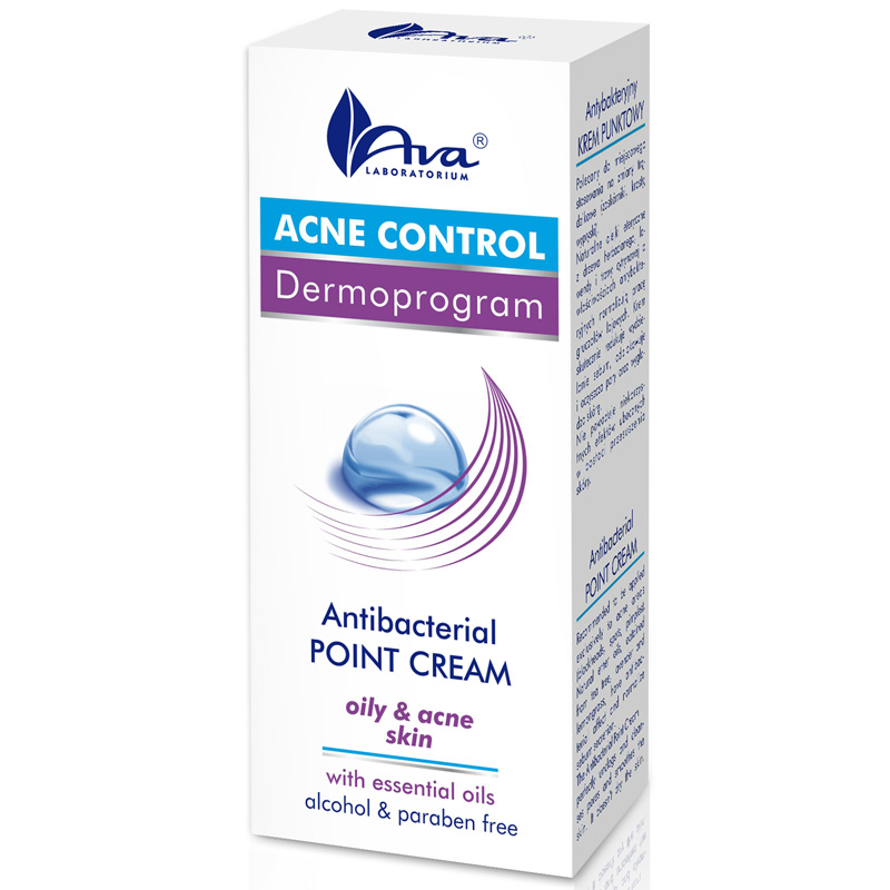 ACNE CONTROL  Crema anti-acnee Point cu efect antibacterian