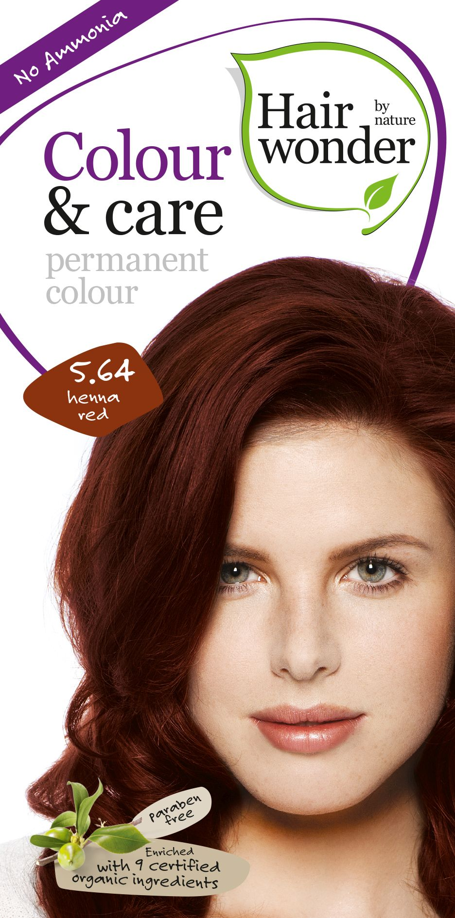 Hairwonder Colour & Care Henna Red 5.64