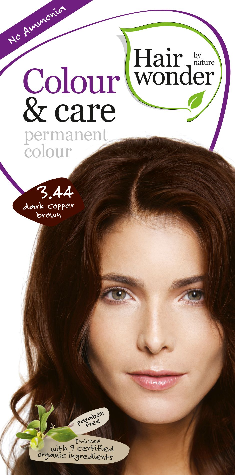 Hairwonder Colour & Care Dark Cooper Brown 3.44