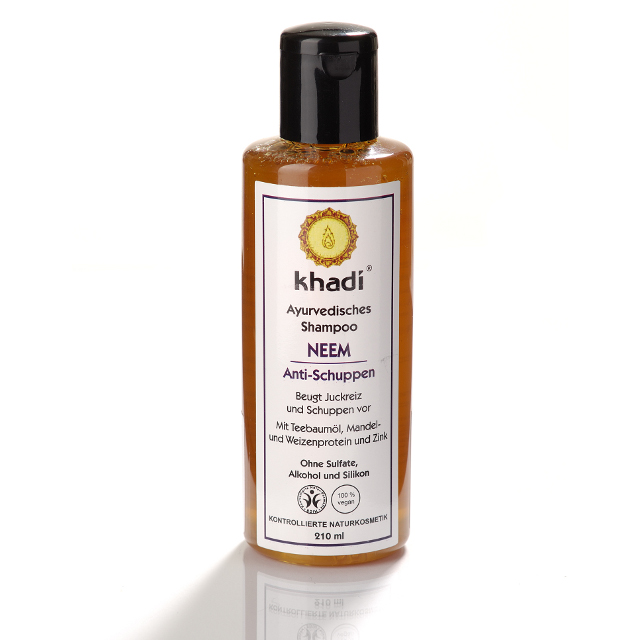 KHADI Sampon ayurvedic antimatreata cu neem