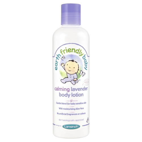 EARTH FRIENDLY BABY Crema de corp cu lavanda