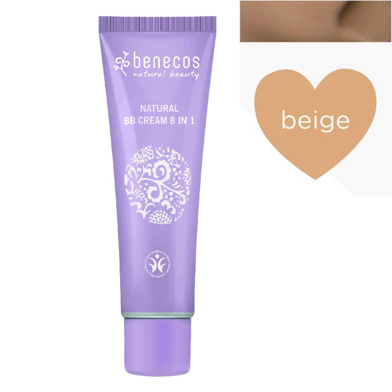 benecos BB CREAM natural 8 in 1 BEIGE