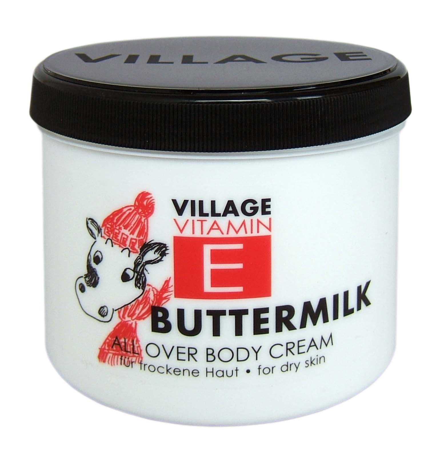 Village Crema de corp cu buttermilk, 500 ml