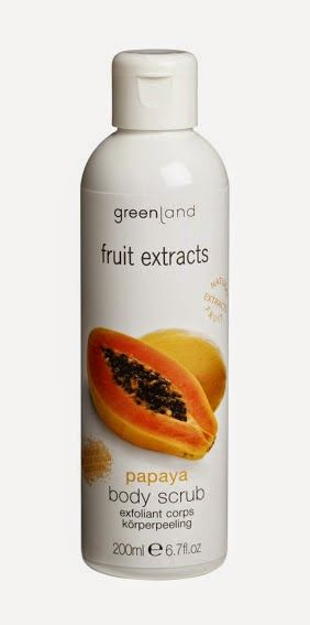 Greenland Exfoliant de corp cu papaya