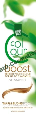 HENNAPLUS Colour Boost Warm Blond