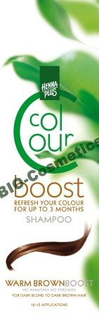 HENNAPLUS Colour Boost Warm Brown