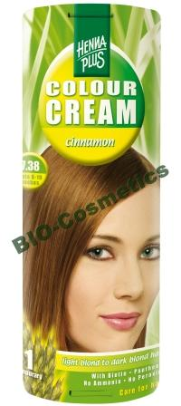 HENNAPLUS Colour Cream Cinnamon 7.38