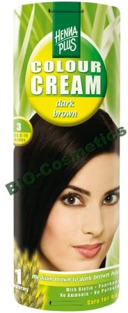 HENNAPLUS Colour Cream Dark Brown 3