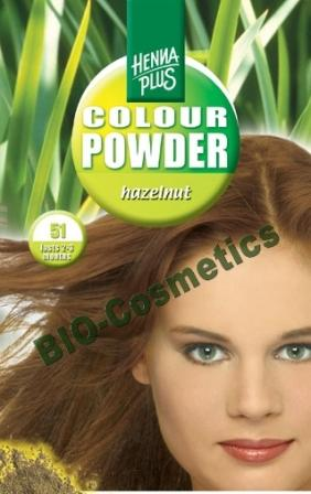 HENNAPLUS Colour Powder Hazelnut 51