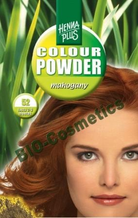 HENNAPLUS Colour Powder Mahogany 52