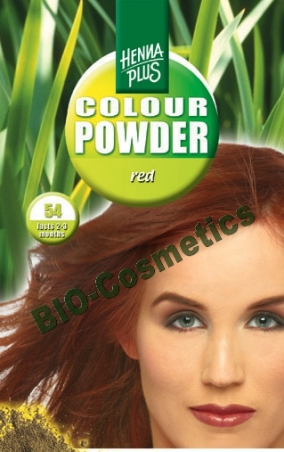 HENNAPLUS Colour Powder Red 54