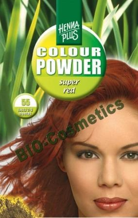HENNAPLUS Colour Powder Super Red 55