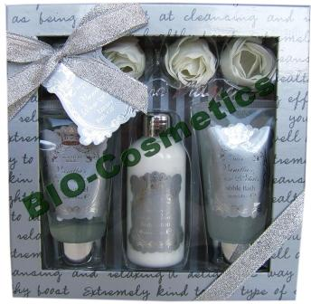 Village Set floral Signature Silver