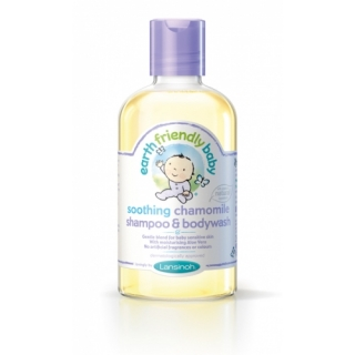 EARTH FRIENDLY BABY Sampon si gel de dus cu musetel