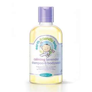 EARTH FRIENDLY BABY Sampon si gel de dus cu levantica