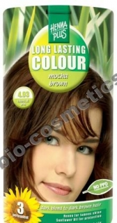 Hennaplus Long Lasting Colour Mocha Brown 4.03